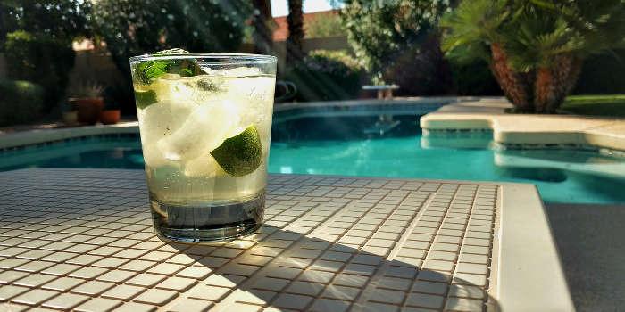 pool summer drink
