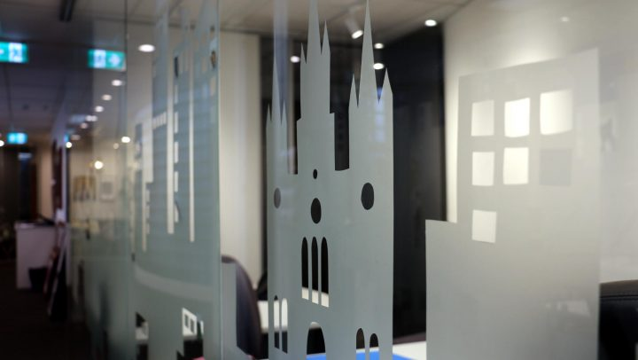 Frosted window film - Melbourne Wide Installation
